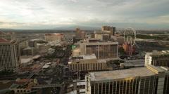Las Vegas Skyline Time Lapse Stock Footage