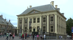 In The Hague, South Holland, Netherlands. Stock Footage
