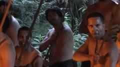 Maori traditional dance – Haka Stock Footage