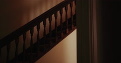Stairs (Dolly-Out) Stock Footage