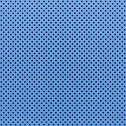 blue color perforated metal sheet - stock photo
