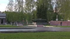 Military Army unit arrangement Stock Footage