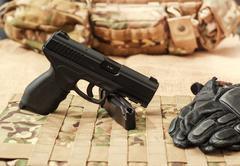 The gun Stock Photos