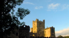 Tintern Abbey, Wexford, Ireland Stock Footage