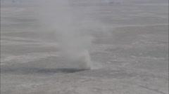 Desert Tornados Stock Footage