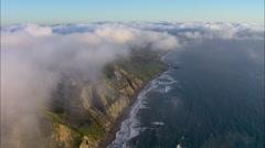 San Francisco City Ocean Stock Footage