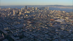 San Francisco City Bay Stock Footage