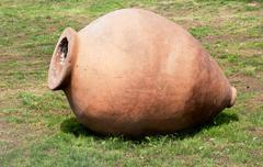 Ancient bowl Stock Photos