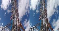 Stock Video Footage of 3d zipper carnival ride