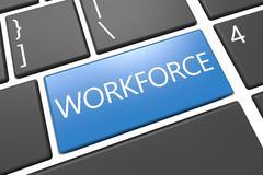 Workforce Stock Illustration
