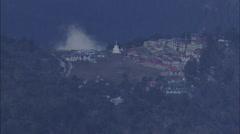 Canyon Snow Himalaya Mountain Stock Footage