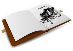 chapter one - stock illustration