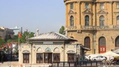Haydarpasa Pier and train station Stock Footage