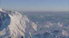 Ice Snow Polar Himalaya Mountains Stock Footage
