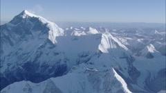 Canyons Snow Himalaya Mountains Polar Stock Footage