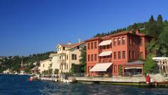 Vanikoy, Istanbul, Bosporus, Turkey Stock Footage