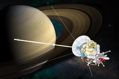 Spacecraft Stock Illustration