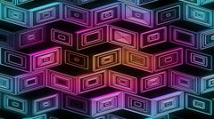 Neon Pattern 001 B Beat Random GSC 3840x2160 Stock Footage