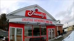 Friendlys restaurant new slogan Stock Footage