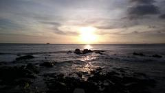 Sunset in Salvador, Brazil Stock Footage