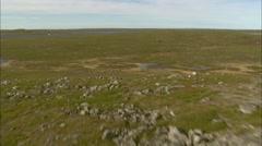 Aerial Footage Tundra Stock Footage