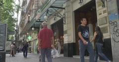 Cafe Tortoni Buenos Aires Stock Footage