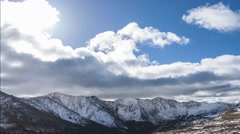Loveland pass colorado uhd time-lapse Stock Footage