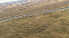 Grasslands Aerial Stock Footage