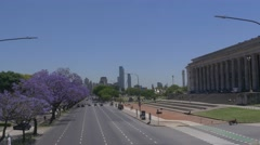 Recoleta Traffic Buenos Aires Stock Footage