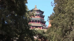China Summer Palace Stock Footage