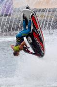 Jet ski show in sea world gold coast queensland australia Stock Photos