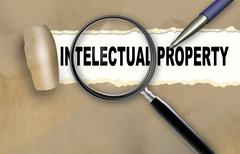 Stock Illustration of intelectual property