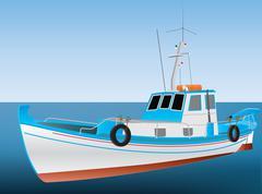 Greek fishing boat Piirros