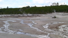 141205e wasteland at yellowstone Stock Footage
