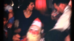 Middle America ,1949, Santa Clause scary Stock Footage