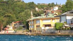 Kandilli, Istanbul, Bosporus, Turkey Stock Footage