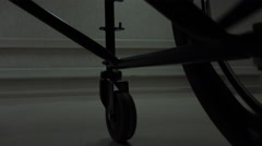 4K Wheelchair Assisted Living Stock Footage