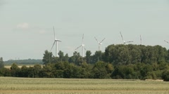 Wind Engines Stock Footage