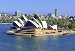 Sydney Opera House, Sydney Australia Stock Photos