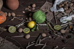 still life witch - stock photo