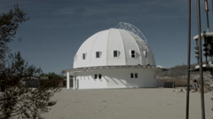 Integratron Dome Landers, CA Joshua Tree Stock Footage