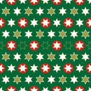 Christmas seamless wrapping paper-repeating Stock Illustration