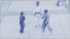 Judo pencil sketch Stock Footage