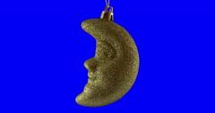 Christmas ball isolated loop 17 - stock footage