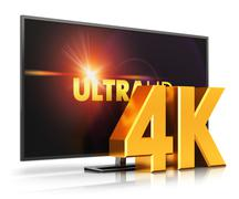 4K UltraHD TV - stock illustration