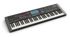 Professional musical synthesizer - stock illustration