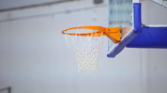 Basketballl training - before game play Stock Footage