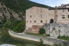 Stock Photo of piobbico (marches), historic village