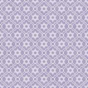 Stock Illustration of purple and white star of david repeat pattern background