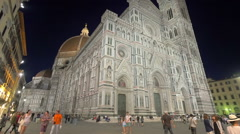 Florence Cathedral, Italy Stock Footage